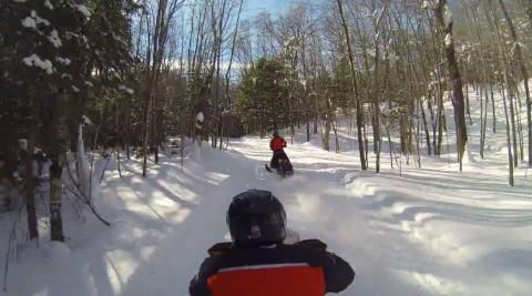 Snowmobile Trails Marquette County Mi Trail Genius